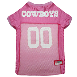 the latest c16bb e5dcd Officially Licensed NFL Dallas Cowboys Jersey(pink)