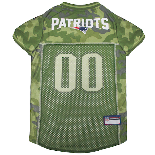 promo code 42270 5b4f2 Officially Licensed NFL New England Patriots Camo Jersey