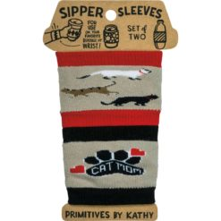 Sipper Sleeves - Cat Mom