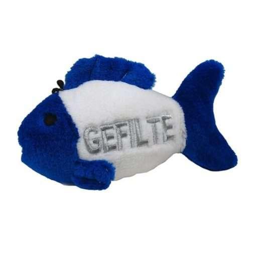 4.5 Talking Gefilte Fish Dog Toy